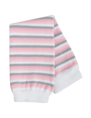 Гетры BabyLegs Pink/Heather/White